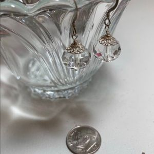Jewelry - Crystal quartz earrings